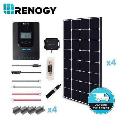 Renogy 400 Watt 12 Volt Off Grid Solar Premium Kit with Ecli
