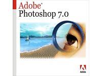 Adobe Photoshop 7 Photo Editing Software