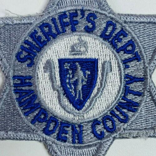 Hampden County Sheriff Massachusetts MA Patch A1B