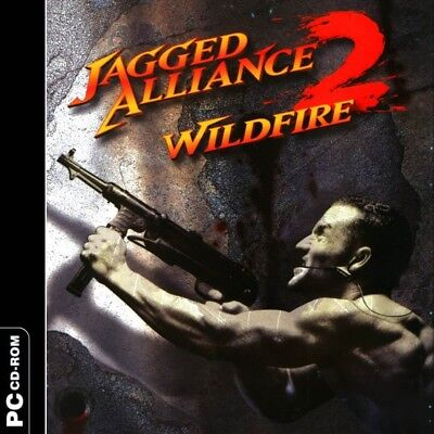 Computer Games - Jagged Alliance 2 Wildfire PC Games Windows 10 8 7 XP Computer strategy NEW