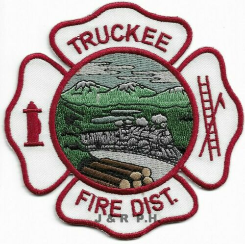 """*NEW*  Truckee  Fire District, California  (4"""" x 4"""" size)  fire patch"""