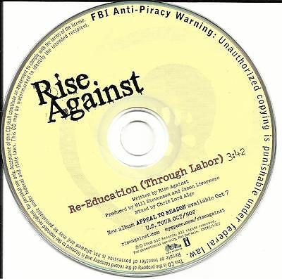 Rise Against Re Education Through Labor 2008 Usa Promo Dj Cd Single Reeducation