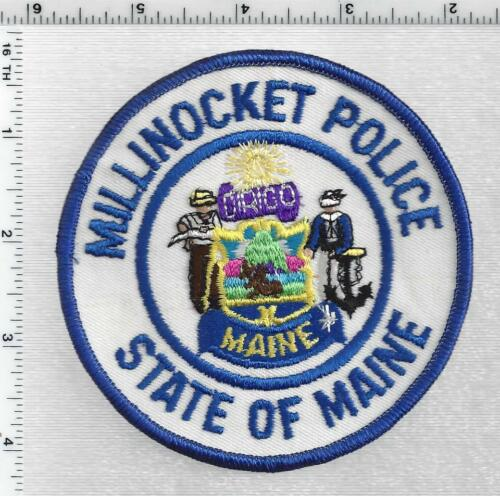 Millinocket Police (Maine) 3rd Issue Shoulder Patch