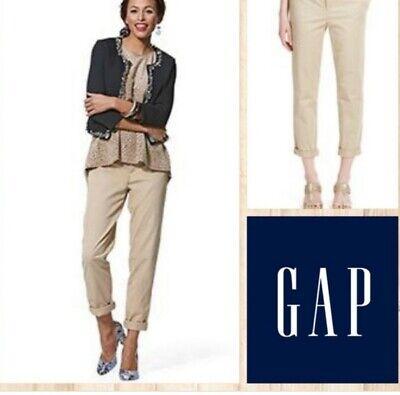 Gap Vintage Roll Crop Khakis Size Uk 12 NWT