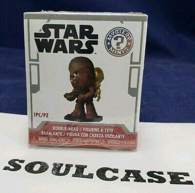 New Funko Chewbacca & C3PO Back-pack Mystery Mini Star Wars Smuggler's - Mini Star