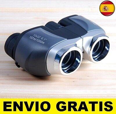 Prismaticos Binoculares con zoom 10 X vision 22. caza, deporte, de vigilancia