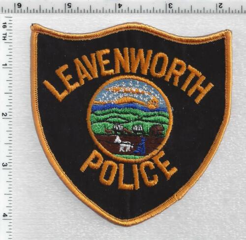 Leavenworth Police (Kansas) 3rd Issue Shoulder Patch