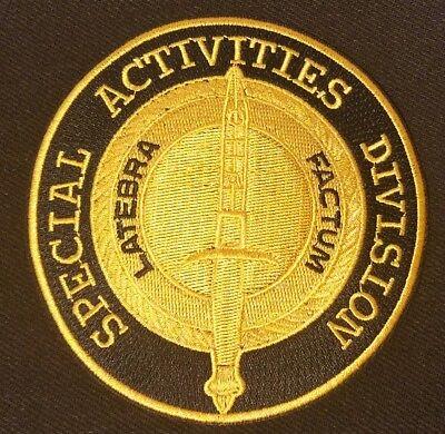 CIA SAD SPECIAL ACTIVITIES DIVISION LATEBRA FACTUM PATCH REPRO NEW A148