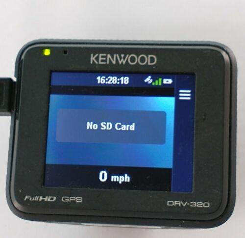Kenwood DRV-320 Super HD Dashboard Camera - Black, R