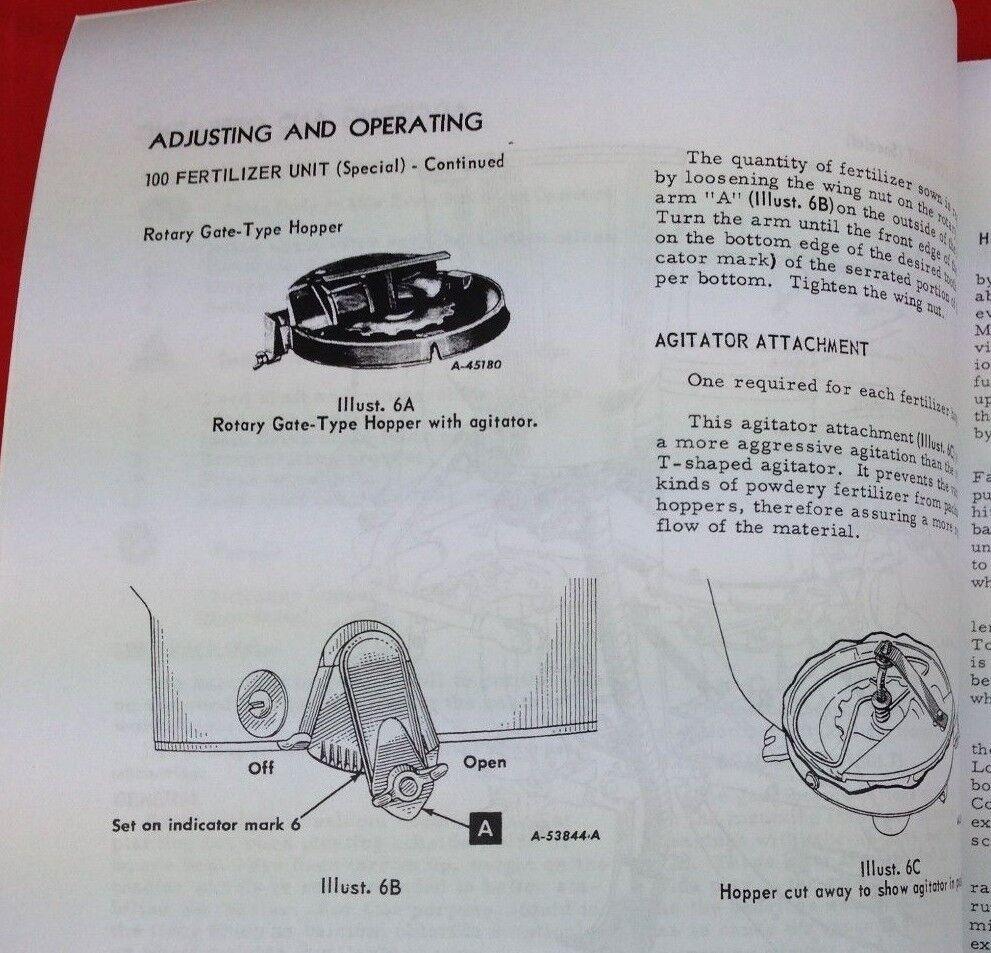 140 Farmall Fertilizer Distributor Parts Diagram Explained Wiring International A 180 Mccormick Ih Super Runner Planter Manual 100 130 For