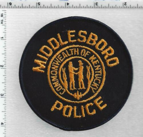 Middleboro Police (Kentucky) 1st Issue Shoulder Patch