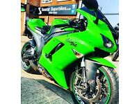 Zx6r 2007 just had full service