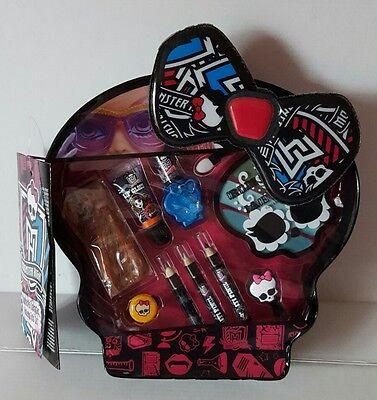 Brand New Halloween Monster High Skulltastic Character Makeup Tote Set  - Halloween Monster High Makeup