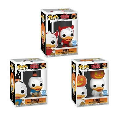 Funko Shop Exclusive Disney Halloween Huey Dewey Louie Bundle 3 Pack