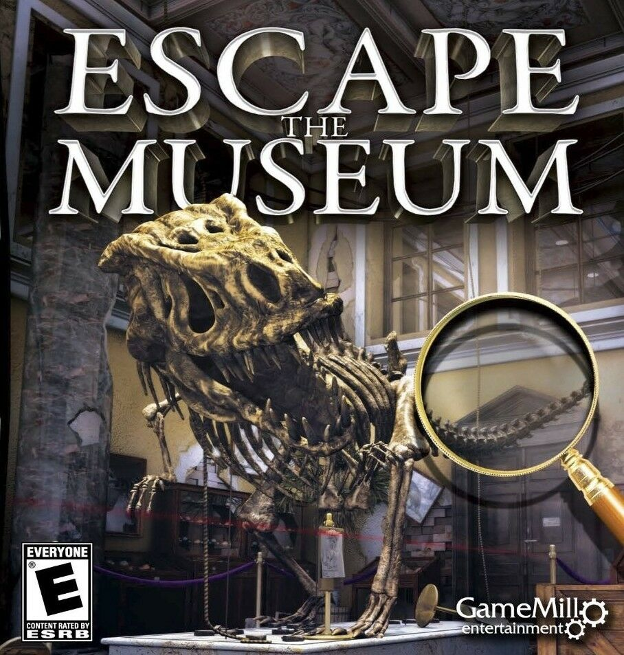 Computer Games - Escape The Museum PC Games Windows 10 8 7 XP Computer hidden object seek & find