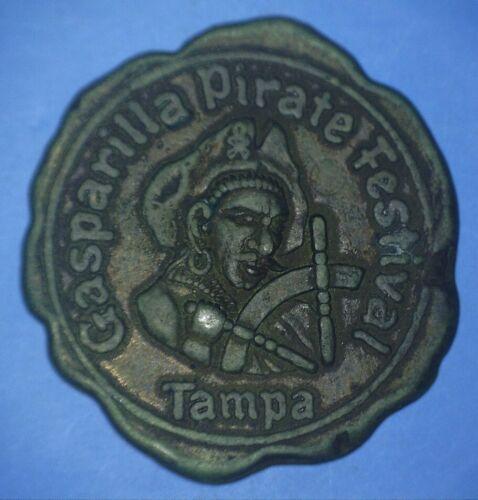 1955 GASPARILLA PIRATE FESTIVAL - TAMPA FOR A GOLDEN FUTURE - *63946964