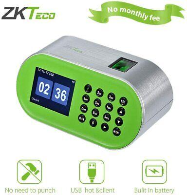 Zkteco Desktop Fingerprint Time Clock Biometric Attendance Machine Employee