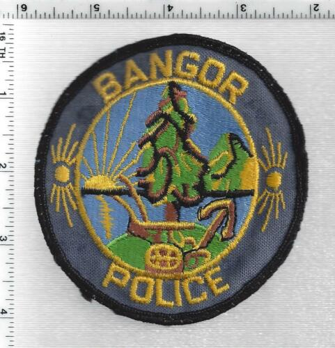 Bangor Police (Maine) 2nd Issue Uniform Take-Off Shoulder Patch