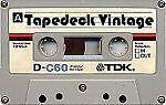 Tape Deck Vintage