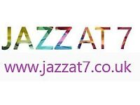 LIVE JAZZ - Jazz at 7, Haddington