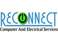 Reconnect. PC,Laptop,Xbox,PS3,Wii,Mobile,Tablet,Kindle. Repairs and accessories, Tape to DVD service