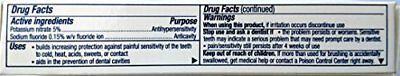 2 Pack Sensodyne Pronamel Gentle Whitening Travel Size Toothpaste 08 ounce each