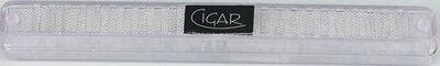 "Polymerbefeuchter Humidifer ""Cigar"" eckig transparent für ca. 25 Zigarren NEU"