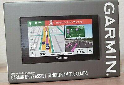 Garmin DriveAssist 51 LMT-S GPS w/ Lifetime Maps Wi-Fi & Dashcam 010-01682-02