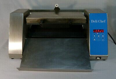 Deli Chef A-1g Front Ejection Automatic Commercial Panini Press