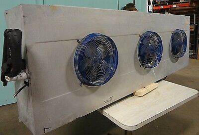 H.d. Commercial Kramer 3 Fan Low Profile Evaporator For Deli Walk In Cooler