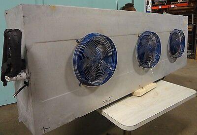 H.d. Commercial Kramer 3 Fan Low Profile Evaporator For Deli Walk In Cooler