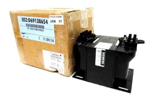 NEW SIEMENS D69138654 INDUSTRIAL CONTROL TRANSFORMER MT0750B 750VA 240/480-24V