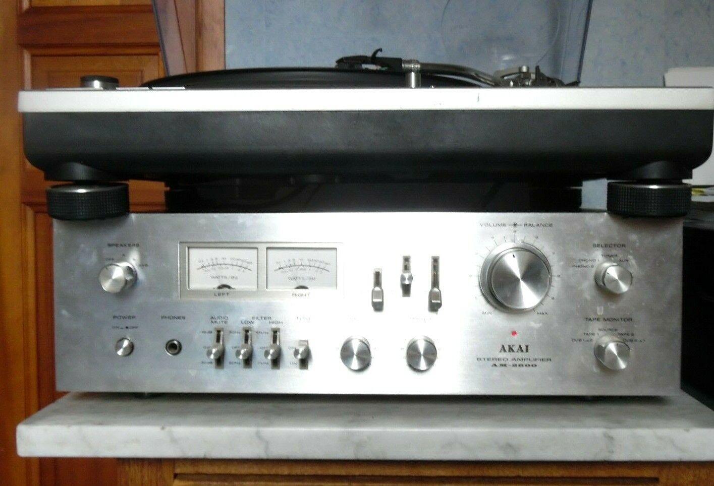 Ampli vintage akai am-2600 integrated stereo amplifier no marantz pioneer kenwoo