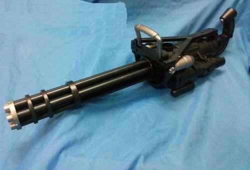 Spinning Electric Toy gun Gatling automatic jelly blaster minigun Vulcan M134