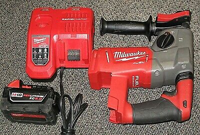 Milwaukee 1 Sds Plus Cordless Rotary Hammer W Xc 5.0 Lithiumcharger Excellent