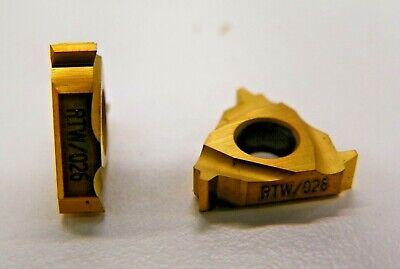 5 Pieces Rtw 16nr 12 Acme 026 Carbide Inserts  H102