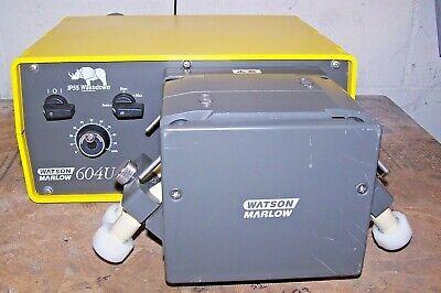 Watson Marlow 604u Variable Speed Ip55 Washdown Peristaltic Pump 625l Pump Head