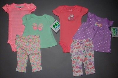 Baby girl clothes, Preemie, Carter