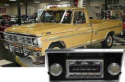 68-72 Ford Truck F Series AM FM Bluetooth New Stereo Radio iPod USB Aux 300 watt