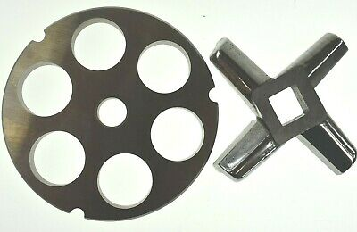 32 X 1 Stainless Meat Grinder Plate Heavy Duty Knife For Hobart Biro