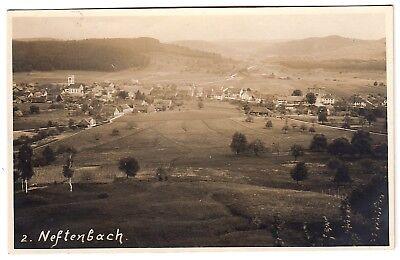 Kt Zürich NEFTENBACH Panorama * Foto-AK um 1920