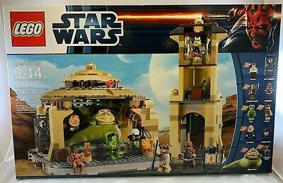 NEW SEALED 9516 LEGO Star Wars JABBA'S PALACE Han Carbonite Salacious 717 pc set