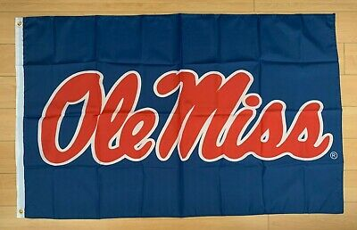 University of Mississippi Ole Miss Rebels 3x5 ft Flag NCAA](Ole Miss Flag)
