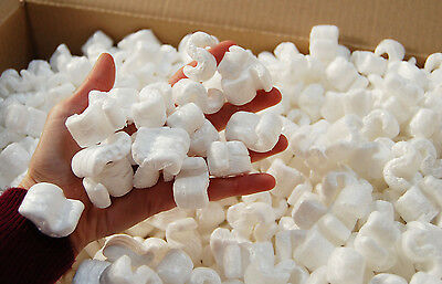 Boxed Packing Polystyrene Peanut chips  `OFFER`  Void Fill approx 4.5 Cubic Ft