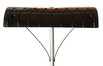 Flake Rake 16 ft. Roof Rake for Snow and Leaf Removal