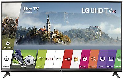 Brand NEW! LG 55 Inch 4K UHD HDR Smart LED TV 2017 Model webOS 55UJ6300 SEALED!