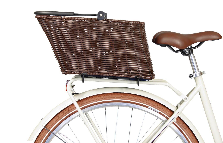 PEGASUS ITALIA BASIL Lenkertasche für KlickFix Fahrradtasche grau braun