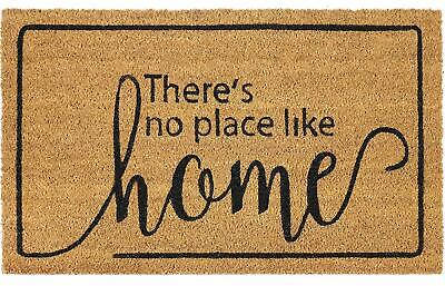 Heavy Printed Coir Door Welcome Mat 18x30 - Dorothy, There's No Place Like Home Home Coir Door Mat