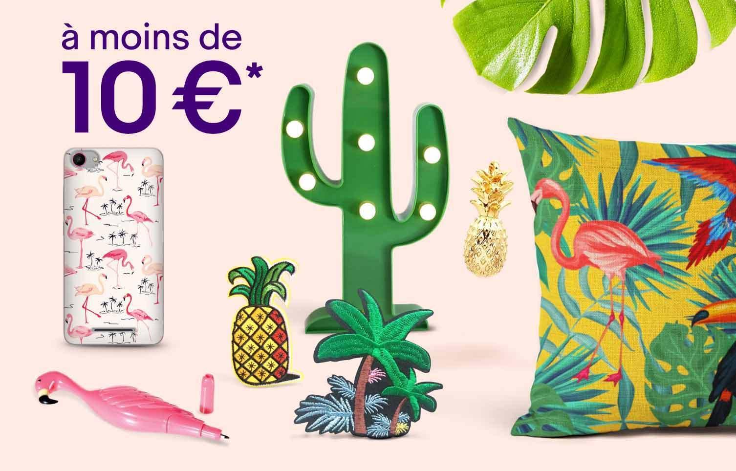 Eté tropical à moins de 10€