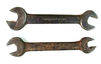 Vintage Fairmount Cleve 725 Wrenches Open Ends Lot of 2, used for sale  Shipping to Canada